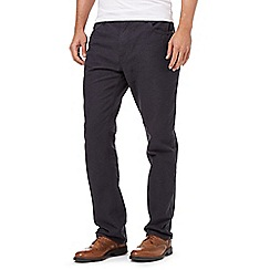 RJR.John Rocha - Big and tall navy regular fit trousers