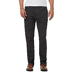 RJR.John Rocha - Dark grey textured trousers