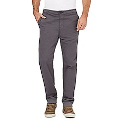 RJR.John Rocha - Big and tall grey ribbed joggers