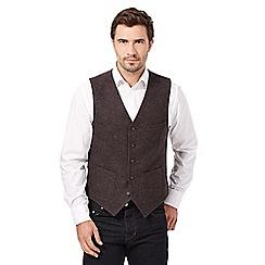 RJR.John Rocha - Brown smart waistcoat
