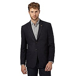 RJR.John Rocha - Big and tall designer navy speckled wool blend jacket