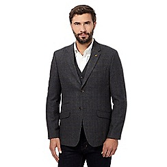 RJR.John Rocha - Big and tall grey check blazer