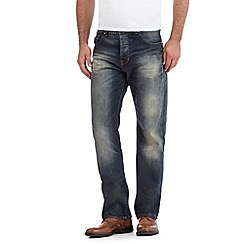 RJR.John Rocha - Designer blue vintage wash regular fit jeans