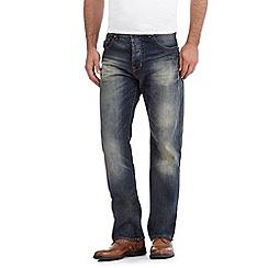 RJR.John Rocha - Designer blue vintage wash regular fit jeans
