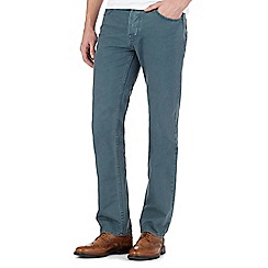 RJR.John Rocha - Big and tall teal straight jeans