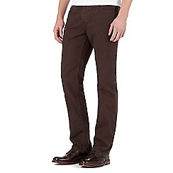 RJR.John Rocha - Brown straight jeans