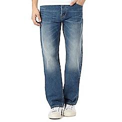 RJR.John Rocha - Big and tall blue mid wash regular fit jeans