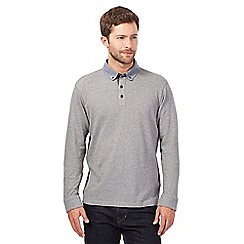 RJR.John Rocha - Grey textured polo top