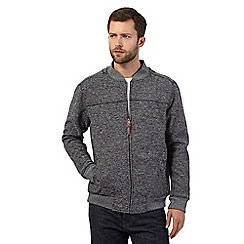 RJR.John Rocha - Big and tall grey zip sweater