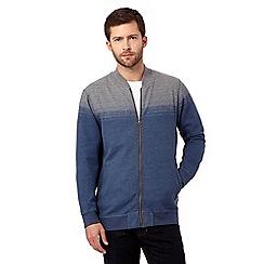 RJR.John Rocha - Blue ombre print sweater