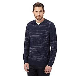 RJR.John Rocha - Purple striped jumper