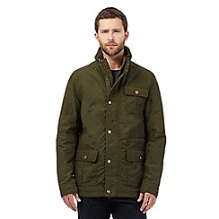 RJR.John Rocha - Big and tall green quilted lining jacket