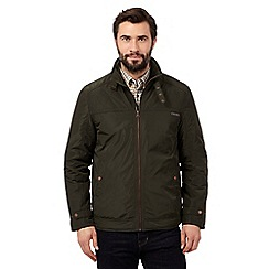 RJR.John Rocha - Big and tall green harrington jacket
