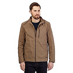 RJR.John Rocha - Big and tall taupe harrington jacket