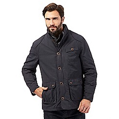 RJR.John Rocha - Big and tall dark grey mock insert jacket