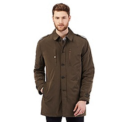 RJR.John Rocha - Big and tall khaki mac coat