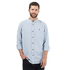 RJR.John Rocha - Big and tall blue long sleeved shirt