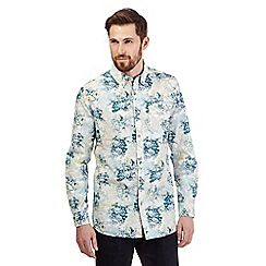 RJR.John Rocha - Big and tall yellow floral print shirt