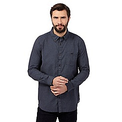 RJR.John Rocha - Big and tall navy geometric print shirt