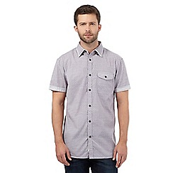 RJR.John Rocha - Big and tall purple textured print shirt