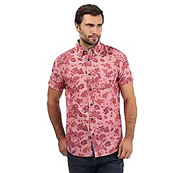 RJR.John Rocha - Big and tall pink floral print shirt
