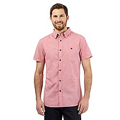RJR.John Rocha - Big and tall pink textured short sleeved shirt