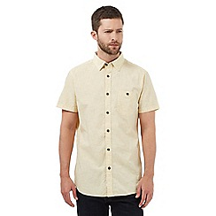 RJR.John Rocha - Yellow patterned tailored fit shirt