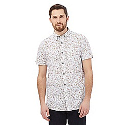 RJR.John Rocha - Pink floral garden print shirt