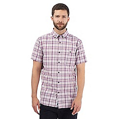 RJR.John Rocha - Big and tall pink checked print shirt