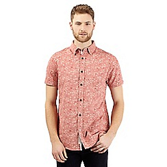 RJR.John Rocha - Big and tall pink short sleeve daisy print shirt