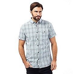 RJR.John Rocha - Aqua checked shirt