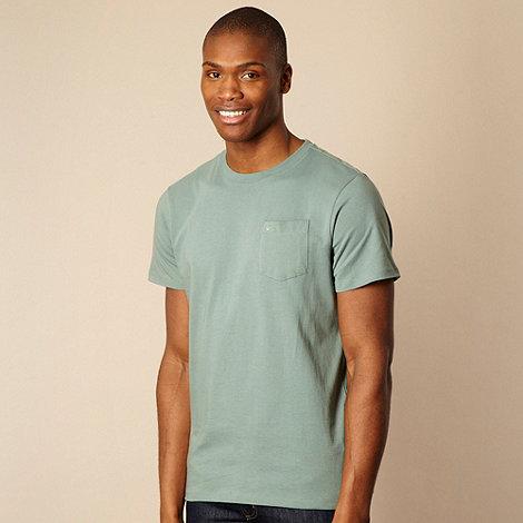 RJR.John Rocha - Light green pocket t-shirt