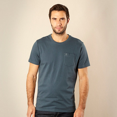 RJR.John Rocha - Big and tall dark turquoise pocket t-shirt