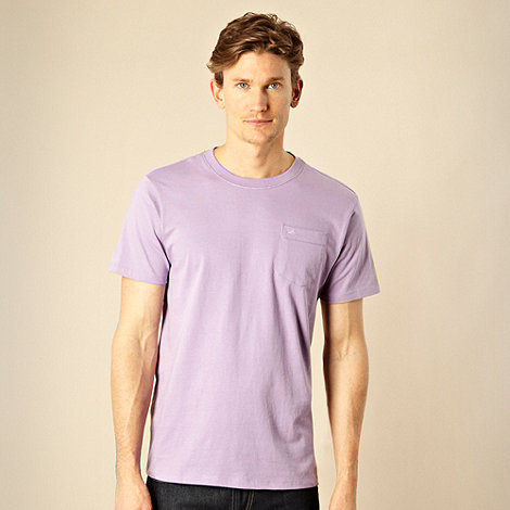 RJR.John Rocha - Designer light purple pocket t-shirt