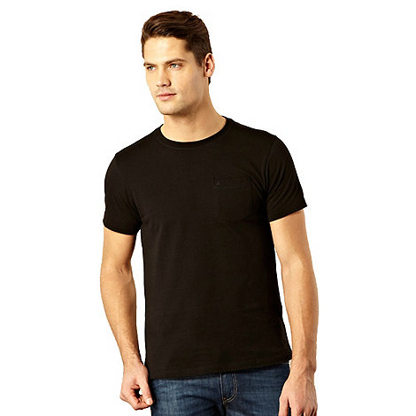 RJR.John Rocha - Designer black pocket t-shirt