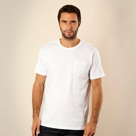 RJR.John Rocha - Big and tall white pocket t-shirt