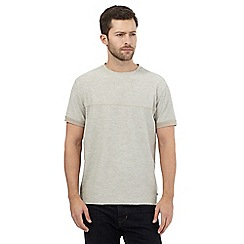 RJR.John Rocha - Big and tall beige textured t-shirt