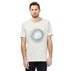RJR.John Rocha - Big and tall off white circle print t-shirt