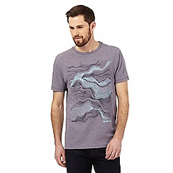 RJR.John Rocha - Purple sand dune print t-shirt