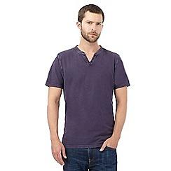 RJR.John Rocha - Purple notch neck t-shirt