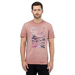RJR.John Rocha - Pink paint script t-shirt