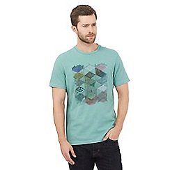 RJR.John Rocha - Big and tall green diamond crew neck t-shirt
