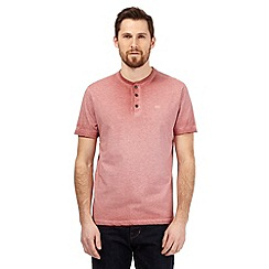 RJR.John Rocha - Big and tall red marl granddad top
