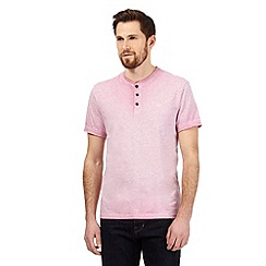 RJR.John Rocha - Big and tall pink marl granddad top