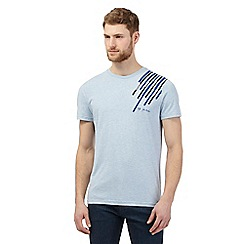 RJR.John Rocha - Blue striped applique t-shirt