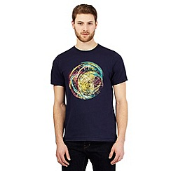 RJR.John Rocha - Navy bike wheel print t-shirt