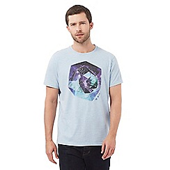 RJR.John Rocha - Blue printed t-shirt