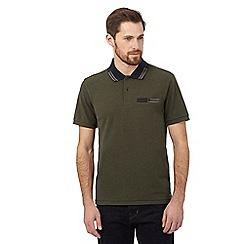 RJR.John Rocha - Khaki tipped polo shirt