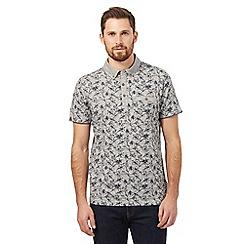 RJR.John Rocha - Grey floral print polo shirt