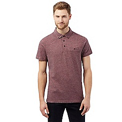 RJR.John Rocha - Red woven polo shirt